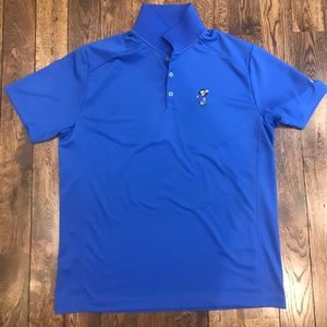 Nike Dri-Fit Golf Polo Featuring Mickey Mouse